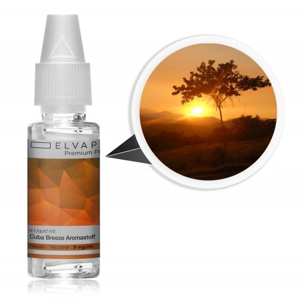 Premium Plus E-Liquid - Tabak - Cuba Breeze (mit Nikotin)
