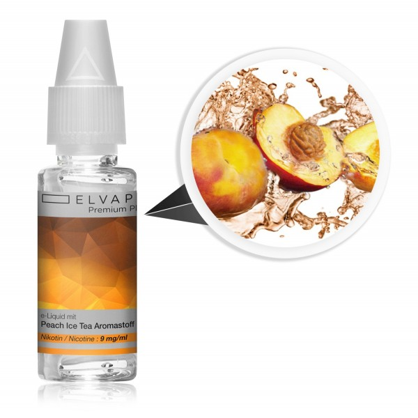 Premium Plus E-Liquid - Peach Ice Tea (mit Nikotin)