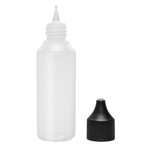 50ml PE Flasche mit Dropper