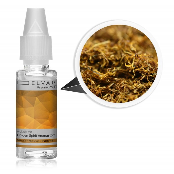 Premium Plus E-Liquid - Tabak - Golden Spirit (mit Nikotin)