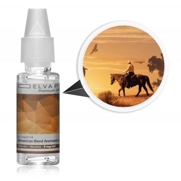 Premium Plus E-Liquid - Tabak - American Blend (mit Nikotin)