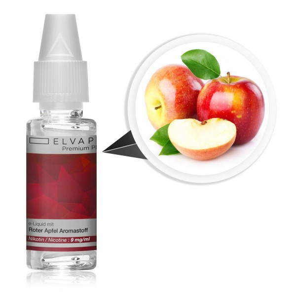 Premium Plus E-Liquid - Roter Apfel (mit Nikotin)
