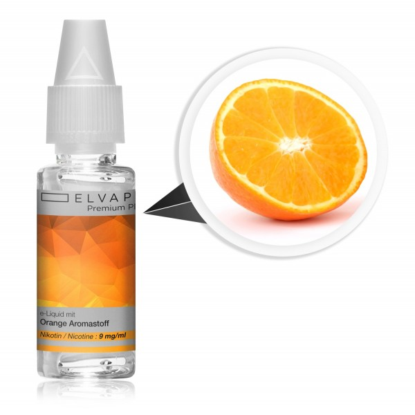 Premium Plus E-Liquid - Orange (mit Nikotin)
