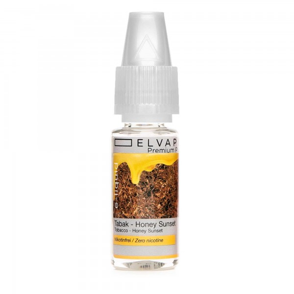 Premium Plus E-Liquid - Tabak - Honey Sunset (ohne Nikotin)