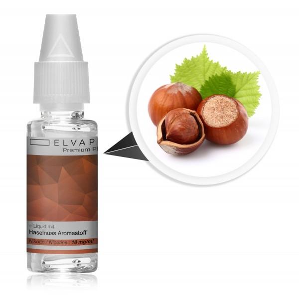 Premium Plus E-Liquid - Haselnuss (mit Nikotin)