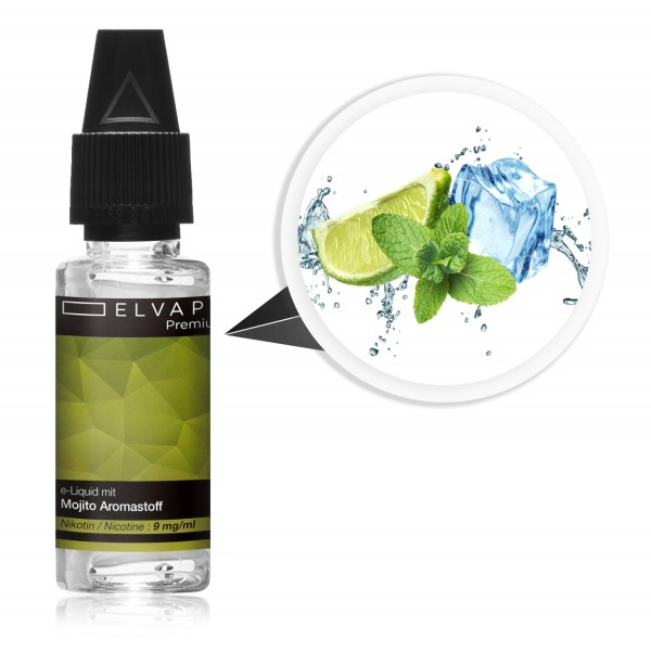 Premium E-Liquid - Mojito (mit Nikotin)