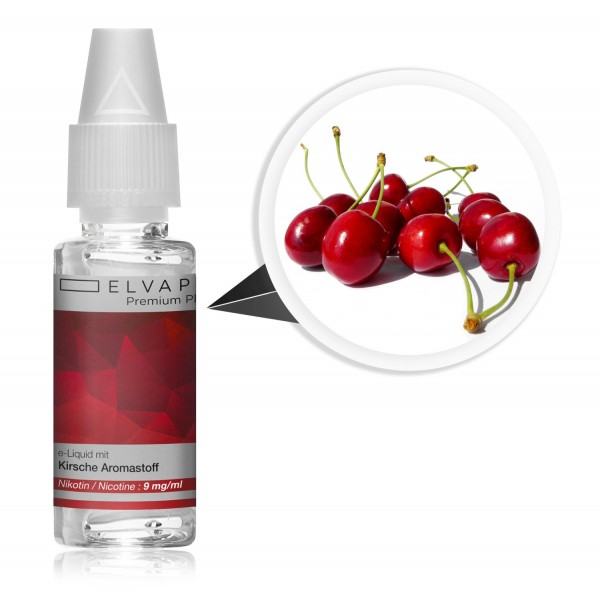 Premium Plus E-Liquid - Kirsche (mit Nikotin)
