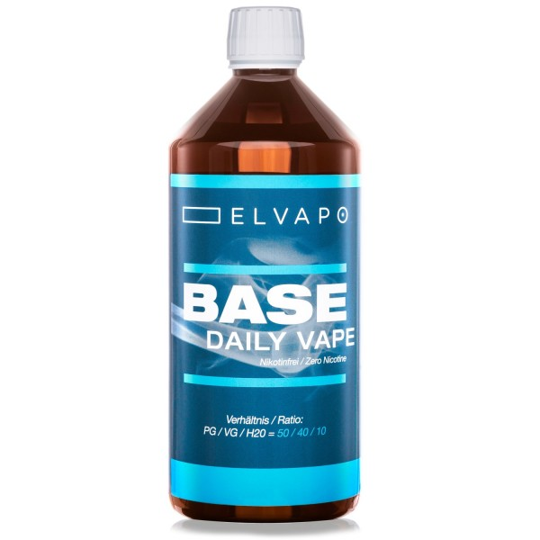 BASE - Daily Vape (PG/VG/H2O=50/40/10)