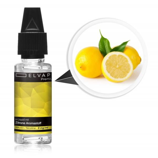 Premium E-Liquid - Zitrone (mit Nikotin)