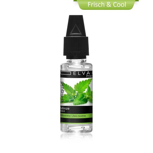 Premium E-Liquid - Minze / Spearmint (ohne Nikotin)
