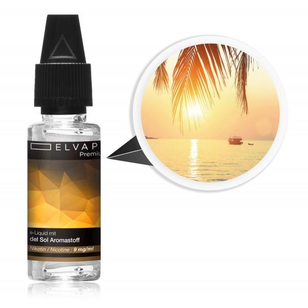 Premium E-Liquid - Tabak - del Sol (mit Nikotin)