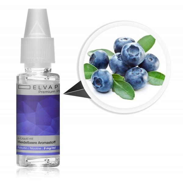 Premium Plus E-Liquid - Heidelbeere (mit Nikotin)