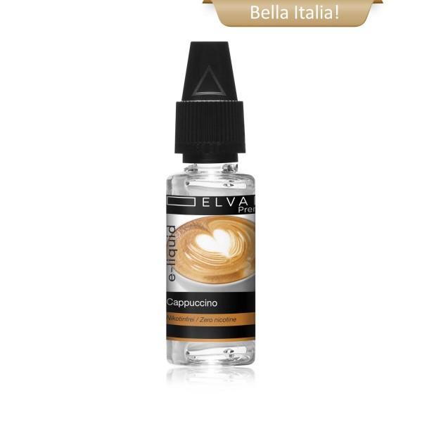 Premium E-Liquid - Cappuccino (ohne Nikotin)