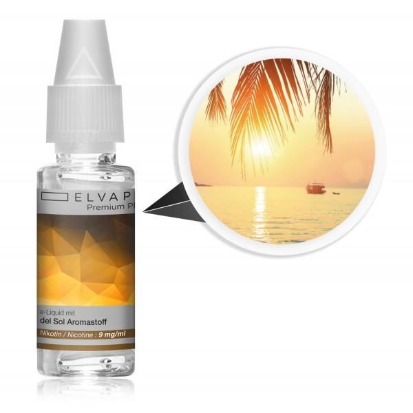 Premium Plus E-Liquid - Tabak - del Sol (mit Nikotin)