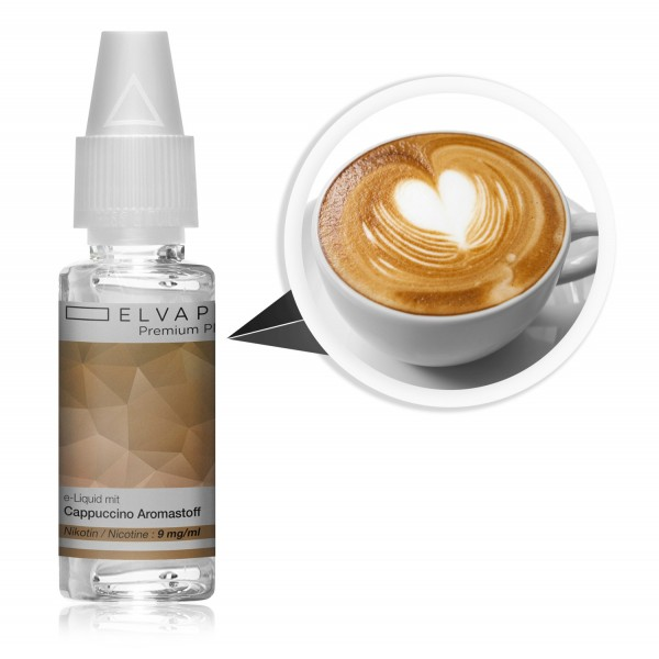 Premium Plus E-Liquid - Cappuccino (mit Nikotin)