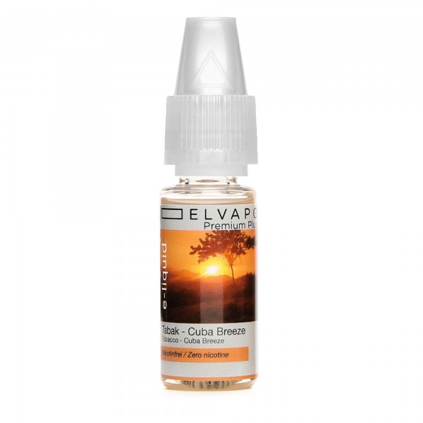 Premium Plus E-Liquid - Tabak - Cuba Breeze (ohne Nikotin)