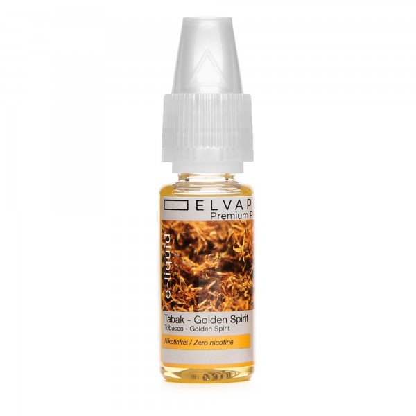 Premium Plus E-Liquid - Tabak - Golden Spirit (ohne Nikotin)