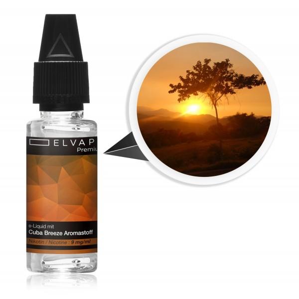 Premium E-Liquid - Tabak - Cuba Breeze (mit Nikotin)