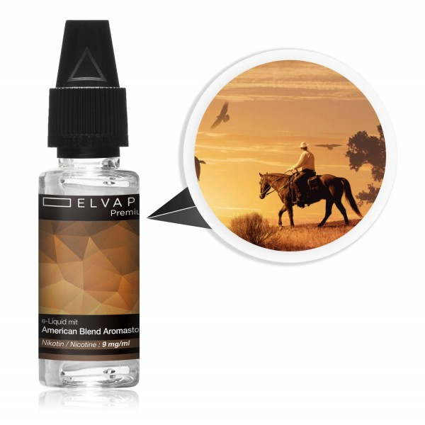 Premium E-Liquid - Tabak - American Blend (mit Nikotin)
