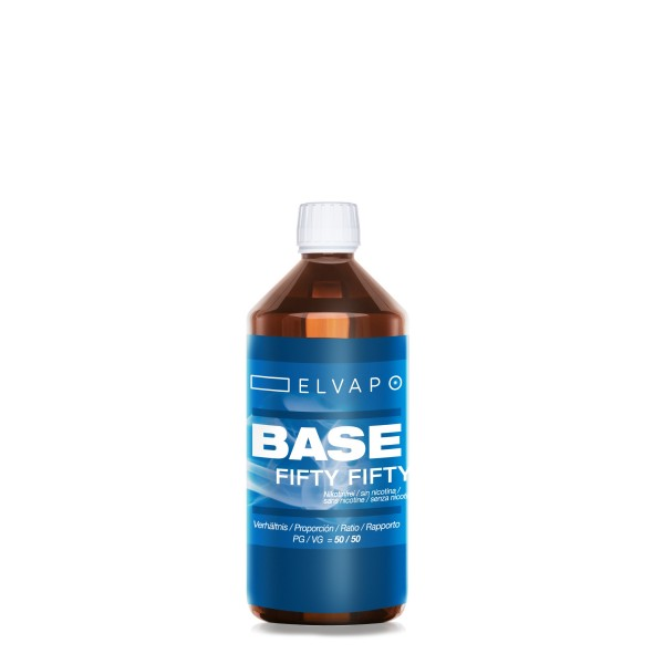 250ml BASE - Fifty Fifty (PG/VG=50/50)