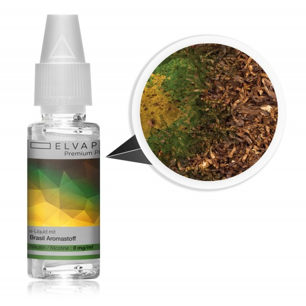 Premium Plus E-Liquid - Tabak - Brasil (mit Nikotin)