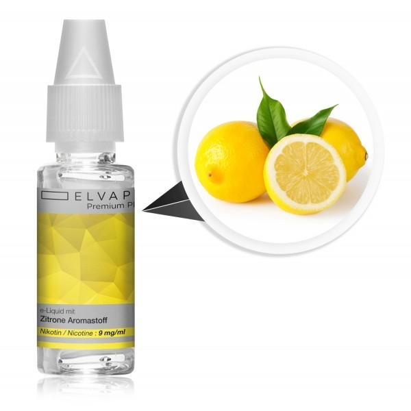 Premium Plus E-Liquid - Zitrone (mit Nikotin)