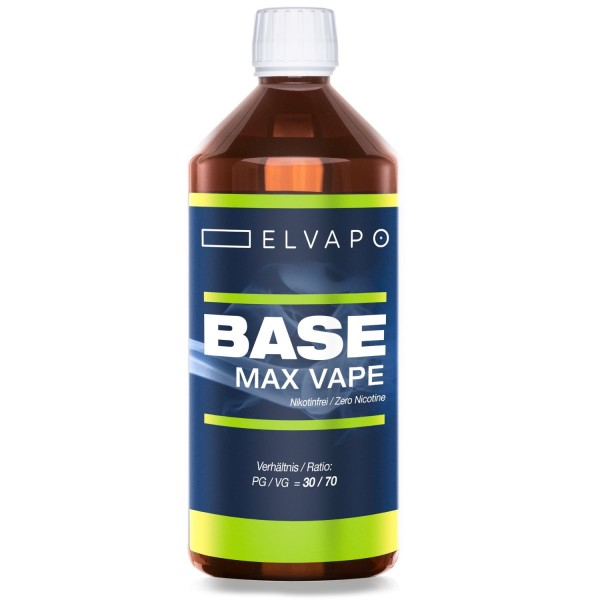 1000ml BASE - Max Vape (PG/VG=30/70)