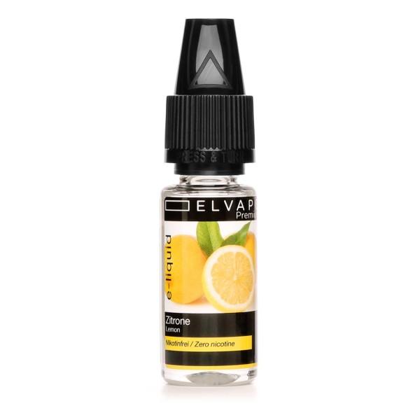 Premium E-Liquid | Zitrone (ohne Nikotin)